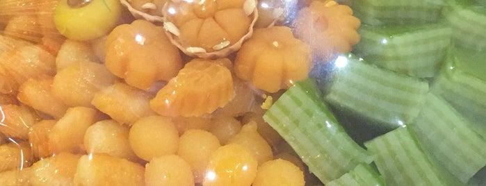 บุญทรัพย์ (คุณหลวง) (Boonsap Thai Dessert Shop) is one of ครัวคุณต๋อย 2557.