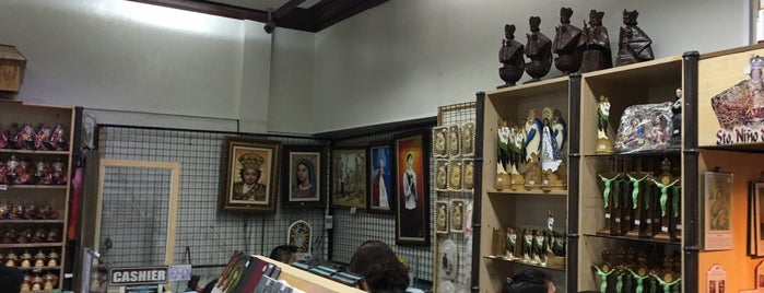Basilica Del Santo Nino Religious Store is one of The 15 Best Places for Arts in Cebu City.