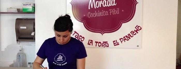 La Cebolla Morada is one of Lo mejor en Col. Juárez CDMX.