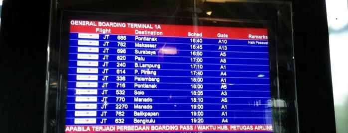 Gate A6 is one of Soekarno Hatta International Airport (CGK).