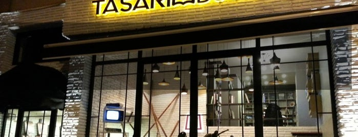 Tasarım Bookshop Cafe is one of My favourites for Cafes & Restaurants.