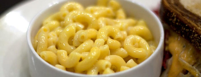 Chicago Diner is one of Where to Find Chicago's Best Mac and Cheese.