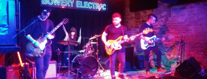 The Bowery Electric is one of Rock Out With Emerging Talent.