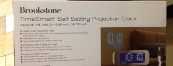 Brookstone is one of market.