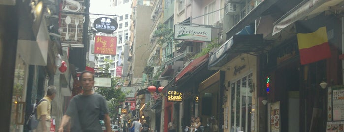 Elgin Street is one of Hong Kong.