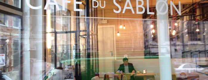 Café du Sablon is one of BXL to do.
