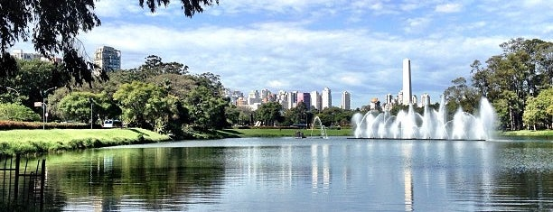 Ibirapuera Park is one of SP.