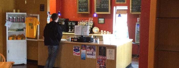Jitter Bean Coffee & Ice Cream is one of Places I Like : ).