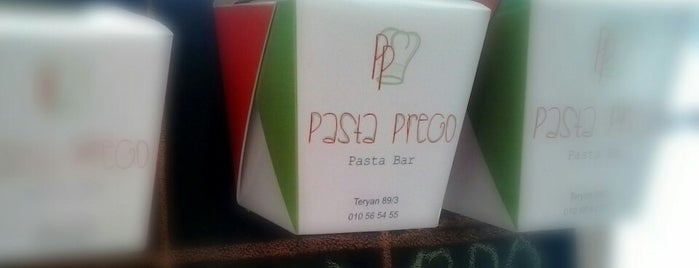 Pasta Prego is one of Restaurants, Pizza Places, Fast Food Joints.