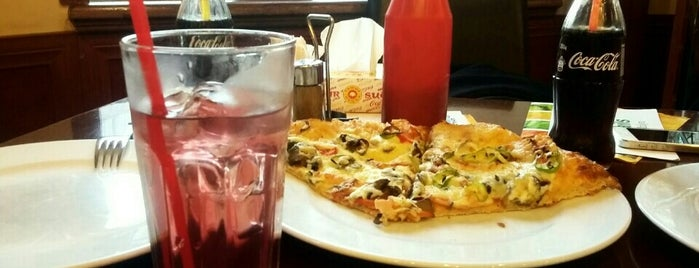 Tashir Pizza is one of Restaurants, Pizza Places, Fast Food Joints.