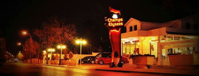 Champs Elysees is one of Konya'da Café ve Yemek Keyfi.