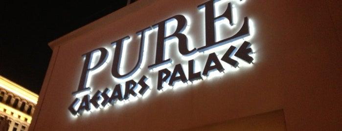PURE Nightclub is one of Vegas nightlife.