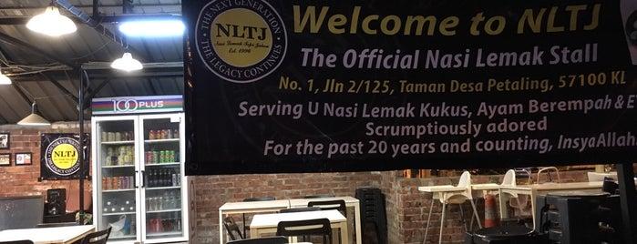 Nasi Lemak Tepi Jalan (NLTJ) is one of All-time favorites in Malaysia.