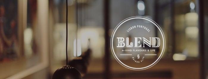 Blend Bairro Alto is one of Lisbonne.