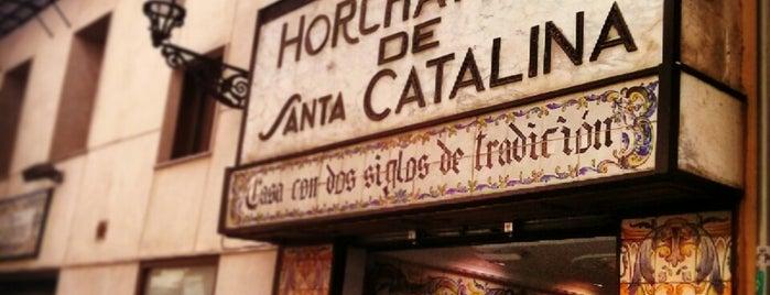 Horchatería Santa Catalina is one of VA\LEN\CIA.