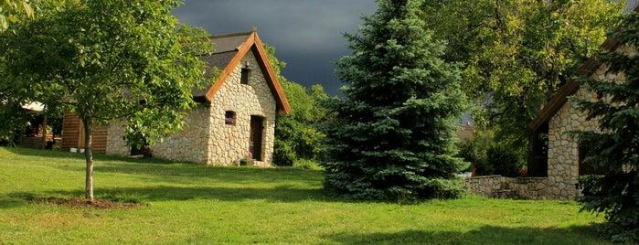 Dióliget is one of countryside • hungary • sleep.