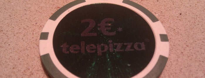 Telepizza is one of Restaurantes que admiten cheques Gourmet.