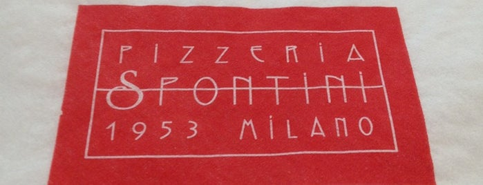 Pizzeria Spontini is one of Pizzerie.