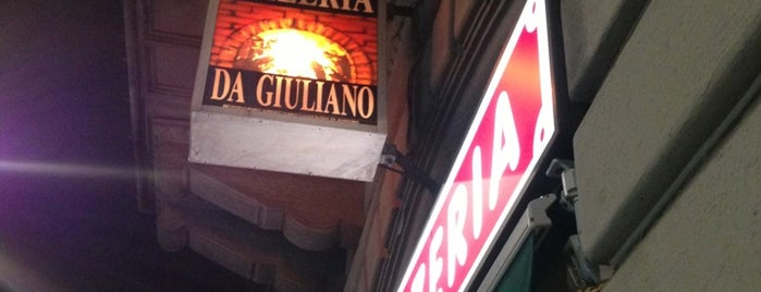 Pizzeria Da Giuliano is one of Milano food.