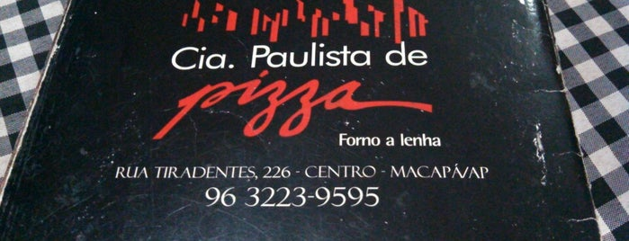 Cia Paulista de Pizza is one of Mayor List.