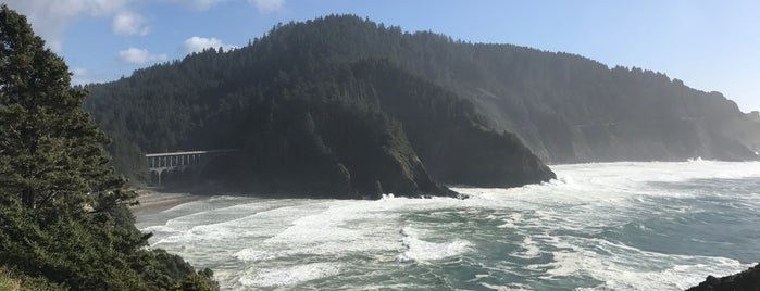 Cape Perpetua is one of Yachats.