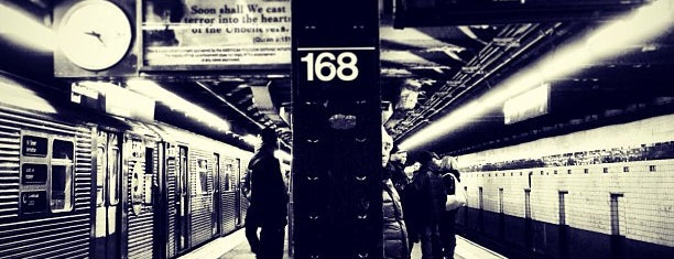 MTA Subway - 168th St (A/C/1) is one of macy.