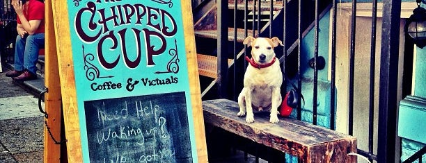 The Chipped Cup is one of Manhattan's Best Coffee by Subway Stop.
