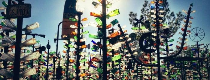 Bottle Tree Ranch is one of Nikki Kreuzer's Offbeat L.A..