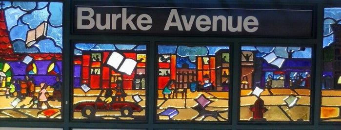 MTA Subway - Burke Ave (2/5) is one of NYC Subways 4/5/6.