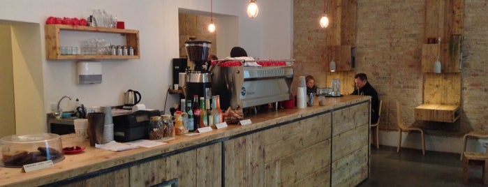 Silo Coffee is one of Berlin Tips.