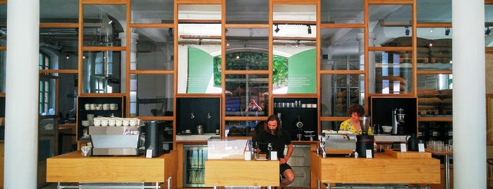 Bonanza Roastery is one of Essential Berlin.