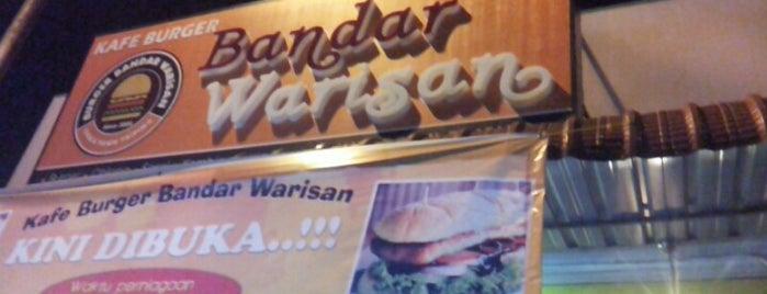 Burger Bandar Warisan is one of Makan @ Utara #12.
