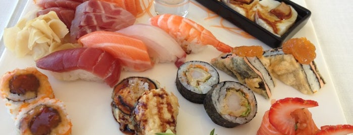 Shis Restaurante is one of Sushi.