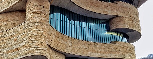 National Museum of the American Indian is one of trek to soon....