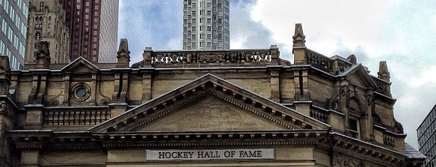 Hockey Hall of Fame is one of Toronto - June 2013.