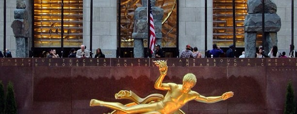 Rockefeller Center is one of New York 2012.