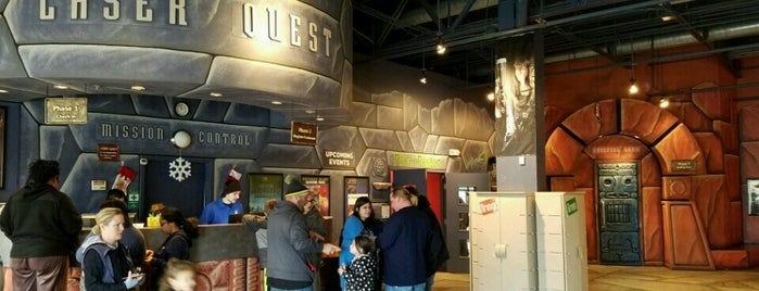 LaserQuest is one of Arcades and Fun Places.