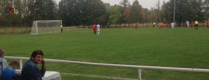 Futbalový štadión Cerová is one of Futbalové štadióny ObFZ Senica.