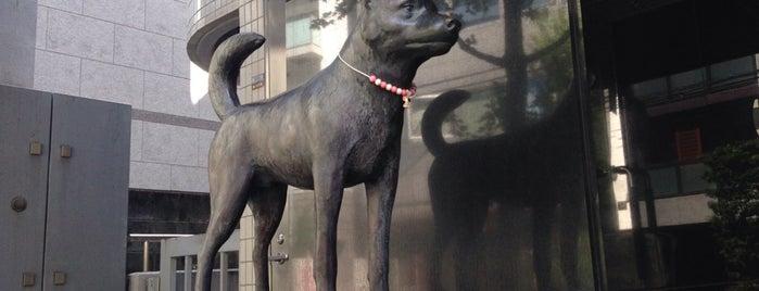 甲斐犬 is one of 東京銅像MAP.