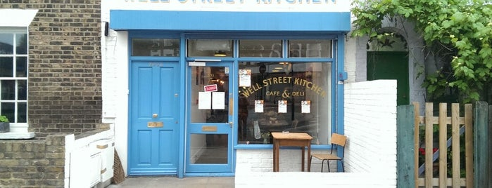 Well Street Kitchen is one of A Weekend in the City of London.