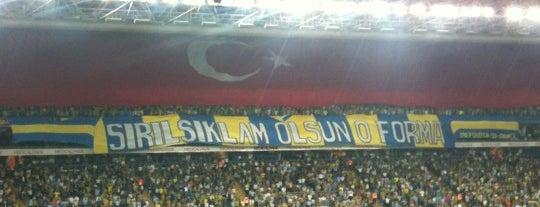 Ülker Stadyumu Fenerbahçe Şükrü Saracoğlu Spor Kompleksi is one of Bağdat Caddesi ve Civarı.