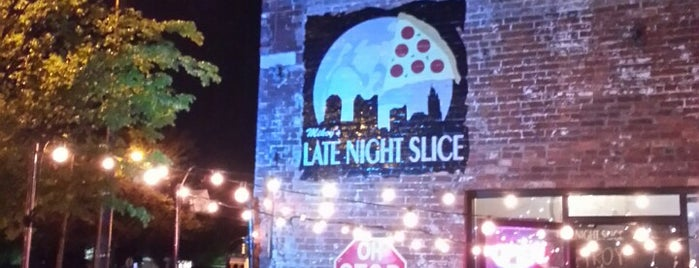 The Original Mikey's Late Night Slice is one of Columbus Pizza.