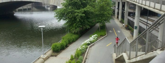 Schuylkill Banks Greenway is one of Philly Favorites.