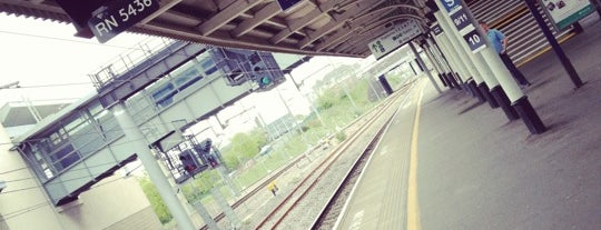 Nuneaton Railway Station (NUN) is one of Rail stations.