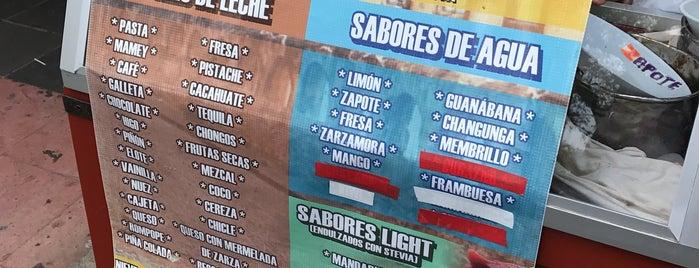 Nevería La Pacanda is one of Michoacán.