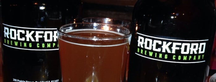 Rockford Brewing Co. is one of Chicagoland Breweries.