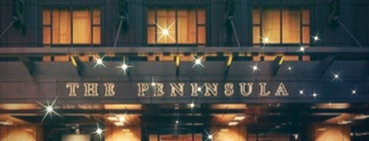 The Peninsula is one of Chicago.