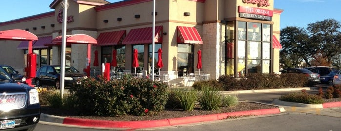 Chick-fil-A Cedar Park is one of food.