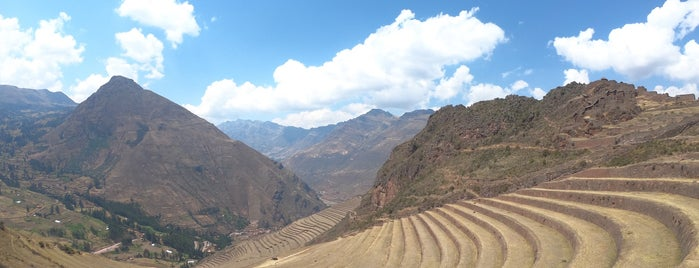 Parque Arqueologico Intihuatana - Pisac is one of Sacred Valley.