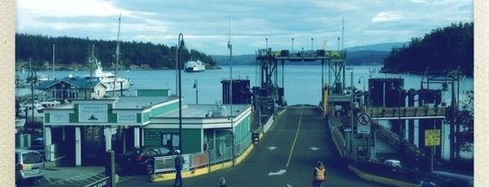 Friday Harbor Ferry Terminal is one of Orcas- San Juan Islands, WA.